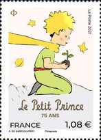 [The 75th Anniversary of the Little Prince, type JQJ]