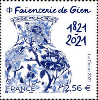 [The 100th Anniversary of the Gien Earthenware Factory, type JSU]