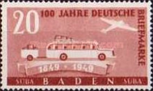 [The 100th Anniversary of the First German Stamp, Typ AA]