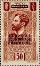 [Postage Stamps from Gabon Overprinted, type A6]