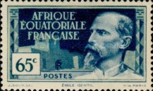[Definitive Issues - Emile Gentil, type F]
