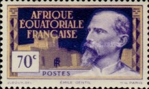 [Definitive Issues - Emile Gentil, type F1]