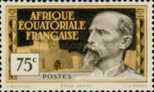 [Definitive Issues - Emile Gentil, type F2]