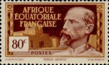 [Definitive Issues - Emile Gentil, type F3]