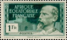 [Definitive Issues - Emile Gentil, type F6]