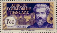 [Definitive Issues - Paul Crampel, type G3]