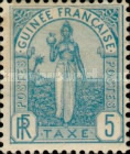 [Postage Due Stamps - Fula Women, Typ A]