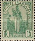 [Postage Due Stamps - Fula Women, Typ A2]