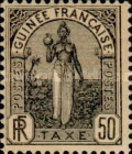 [Postage Due Stamps - Fula Women, type A4]