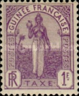 [Postage Due Stamps - Fula Women, type A6]
