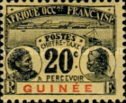 [Postage Due Stamps, type B3]