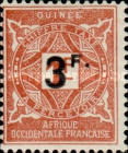 [Not Issued Stamps Surcharged, Typ D1]