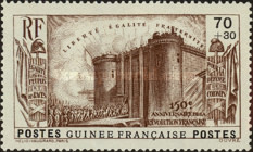 [The 150th Anniversary of the French Revolution, type AD1]