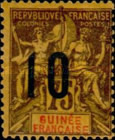 [Issue of 1892 Surcharged - Distance between 0 & 5 or 10: 2½ mm. Type A - Distance between 0 & 5: 2 mm and Distance between 1 & 0: 3 mm, type F12]