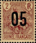 [Shepherd Stamps of 1904 Surcharged - Distance between 0 & 5: 2½ mm. Type A: - Distance between 0 & 5: 2 mm and Distance between 1 & 0: 3 mm, Typ G]