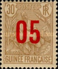 [Shepherd Stamps of 1904 Surcharged - Distance between 0 & 5: 2½ mm. Type A: - Distance between 0 & 5: 2 mm and Distance between 1 & 0: 3 mm, type G10]