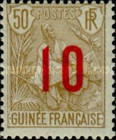 [Shepherd Stamps of 1904 Surcharged - Distance between 0 & 5: 2½ mm. Type A: - Distance between 0 & 5: 2 mm and Distance between 1 & 0: 3 mm, Typ G14]