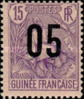 [Shepherd Stamps of 1904 Surcharged - Distance between 0 & 5: 2½ mm. Type A: - Distance between 0 & 5: 2 mm and Distance between 1 & 0: 3 mm, type G4]