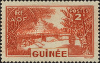 [Definitive Issues - Guinea Village, type W]