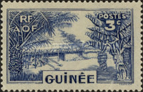 [Definitive Issues - Guinea Village, type W1]