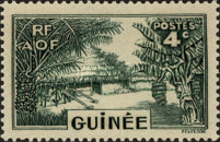 [Definitive Issues - Guinea Village, type W2]