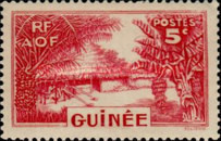 [Definitive Issues - Guinea Village, type W3]