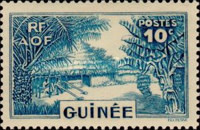 [Definitive Issues - Guinea Village, type W4]