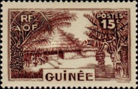 [Definitive Issues - Guinea Village, type W5]