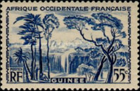 [Definitive Issues - Waterfall Landscape, type Y]
