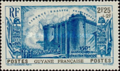 [The 150th Anniversary of the French Revolution, Typ AJ4]