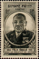 [Governor Eboue, 1884-1944, type AX]