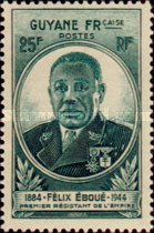 [Governor Eboue, 1884-1944, type AX1]