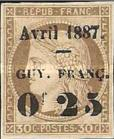 [French Colonies - General Issues Surcharged & Overprinted