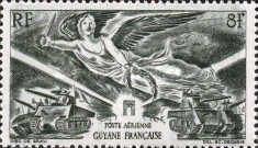 [French Overseas Department- Airmail, Typ BA]