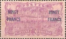 [Not Issued Stamps Overprinted, Typ O1]