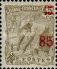 [Number 54,60,64 and Not Issued Stamps Surcharged, type P3]
