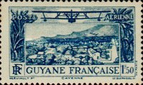 [Airmail - Cayenne, type X2]