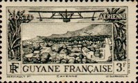 [Airmail - Cayenne, type X4]