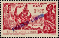 [World Expo, New York Stamps ogf 1939 Overprinted