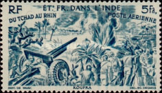 [Airmail - Chad to Rhine, Typ BN]