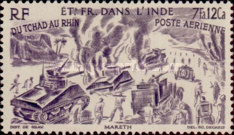 [Airmail - Chad to Rhine, Typ BO]