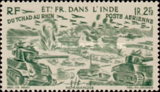 [Airmail - Chad to Rhine, Typ BP]