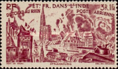 [Airmail - Chad to Rhine, Typ BR]