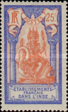 [Shiva  and Pondicherry Temple in New Colors & Values, Typ D13]