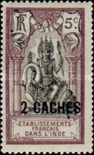 [Shiva Stamps of 1914 & 1922 and Not Issued Stamps Surcharged, Typ N1]