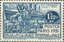 [Paris Colonial Exposition, type V]