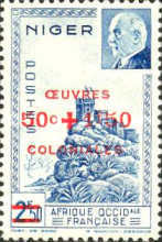 [No. 119-120 Overprinted & Surcharged, Typ AG]