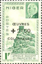 [No. 119-120 Overprinted & Surcharged, Typ AG1]