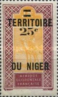 [Upper Senegal and Niger Postage Stamps & Not Issued Surcharged, Typ B]