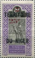 [Upper Senegal and Niger Postage Stamps & Not Issued Surcharged, Typ B2]